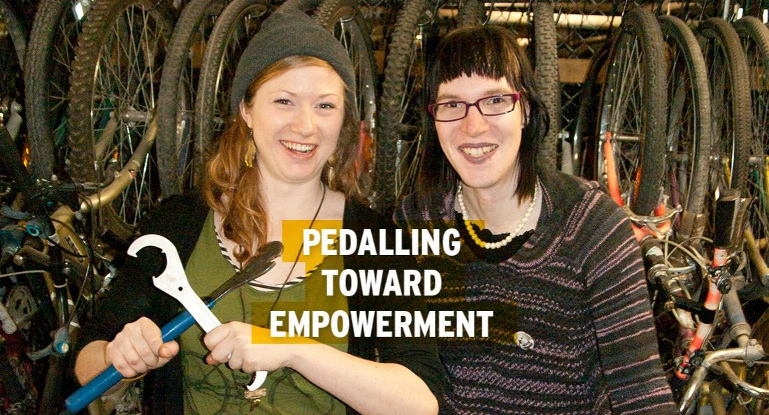 Pedalling Toward Empowerment